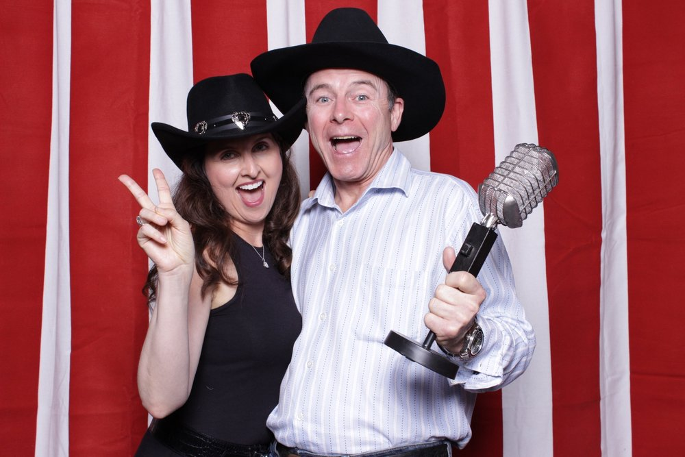 western rodeo | photobooth by merriment co