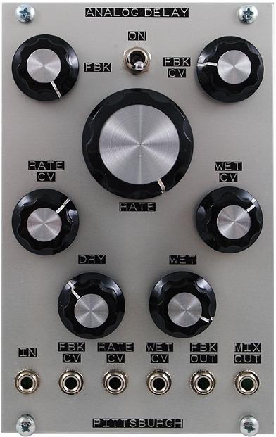 Analog Delay — Pittsburgh Modular Synthesizers