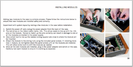 Install Modules