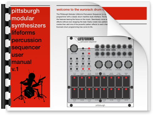 Click the image to download the Lifeforms Percussion Sequencer User Manual in .pdf format.