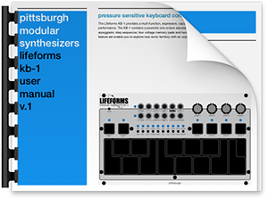 Click the image to download the Lifeforms KB-1 User Manual in .pdf format.