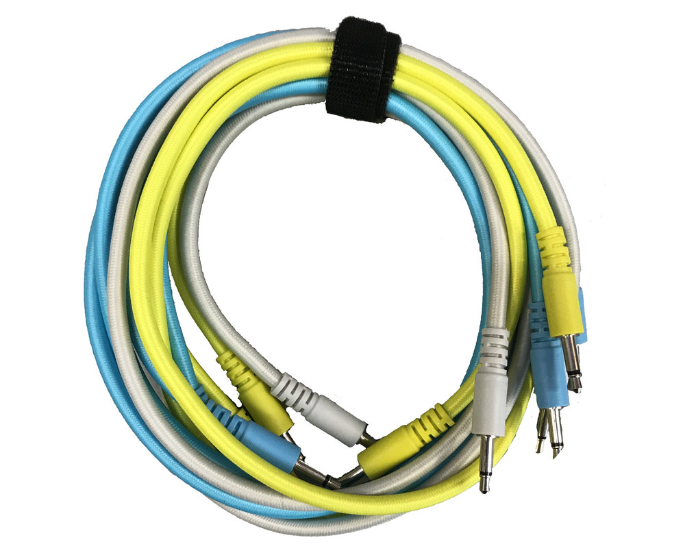 Nazca Braided Patch Cables 24 6 Pack Pittsburgh Modular Cable Pinout Network Best Price Synthesizers