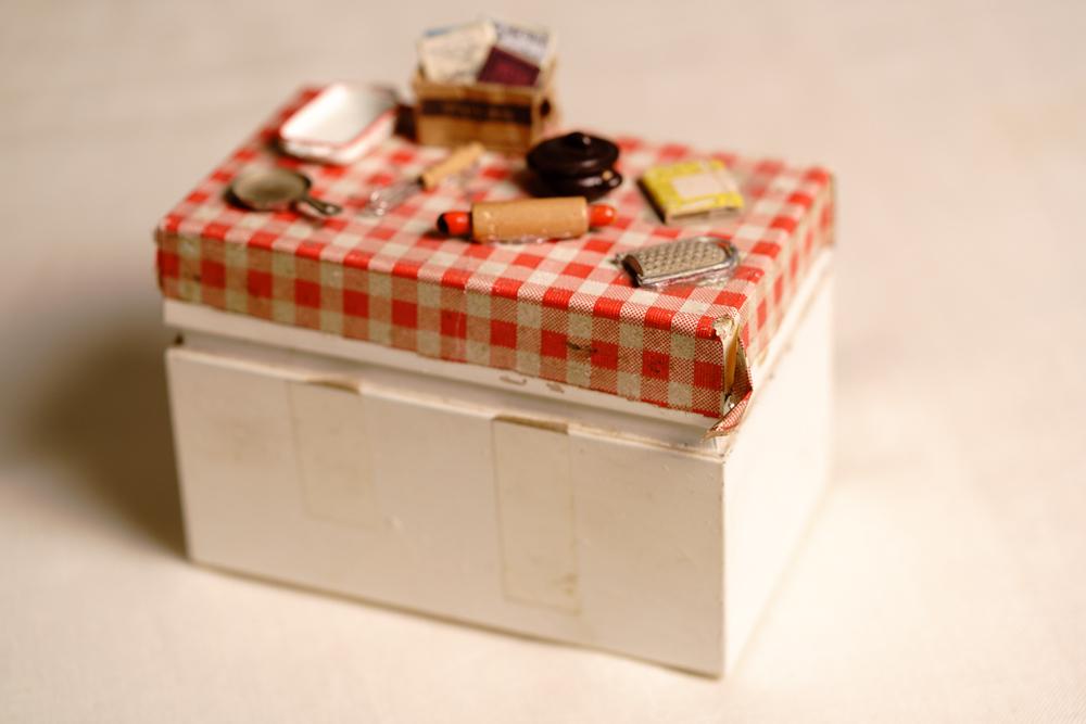 Recipe box, c. 1964 Property belonging to Clara G.B.R.