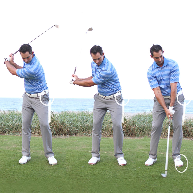Squat and Turn    Bomb it — Peter Sokolov Golf