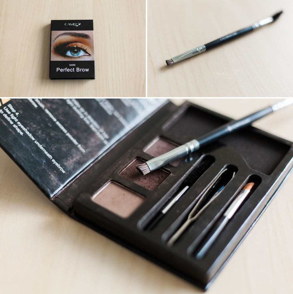 pictured here:  Cameo Perfect Brow Kit  and  Crown Brush Brow Duo
