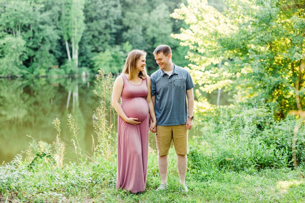 Alexandria Fairfax Mercer Lake Maternity Photographer 15.jpg