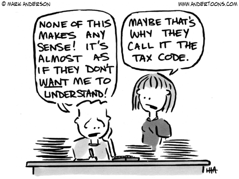 Taxes can be confusing, but fortunately there our advisers out there ready to help!