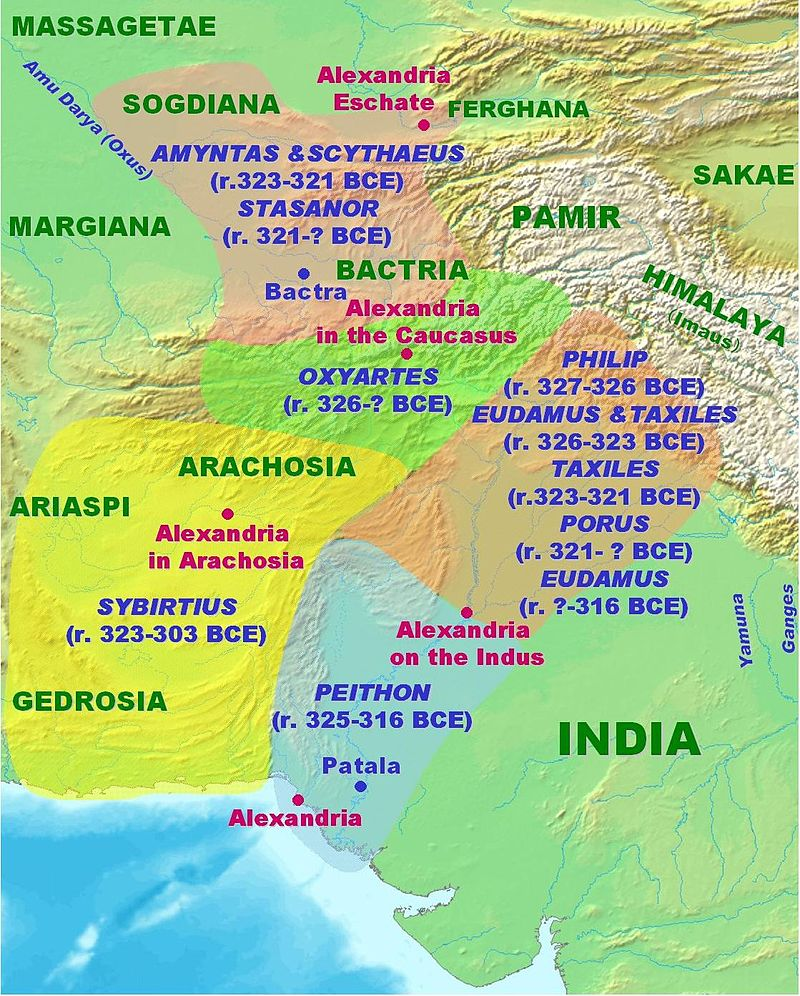 Macedonian Satrapies in India