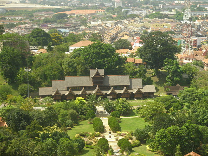 Modern reconstruction of the Malacca Sultanate palace