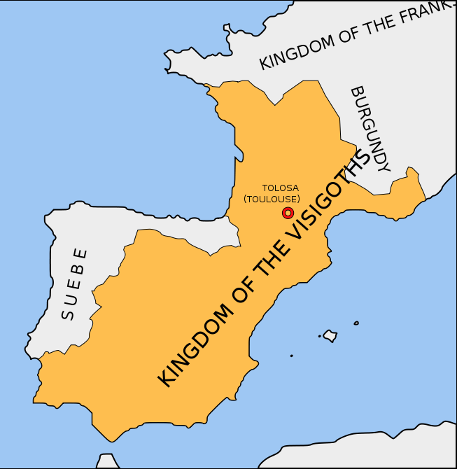 Visigothic Kingdom before Vouillé