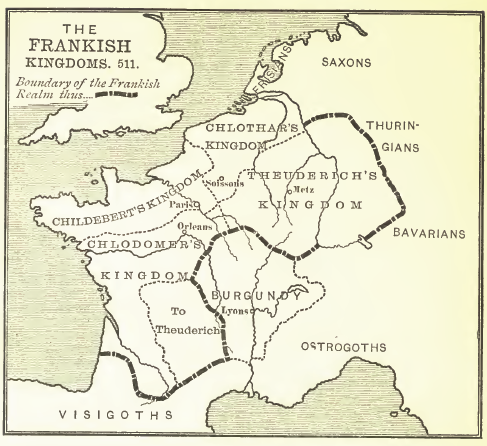 Frankish Kingdom, 511