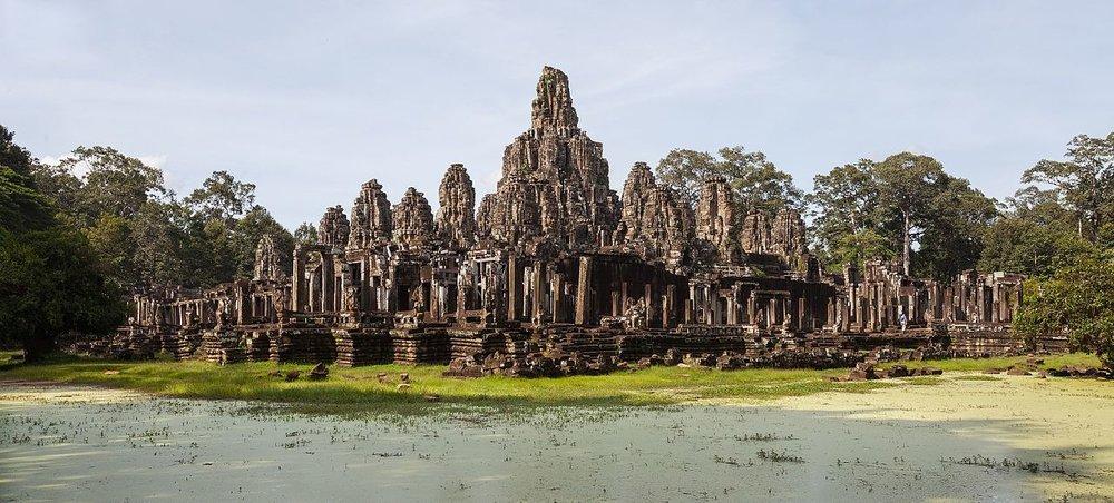 Bayon (in Angkor Thom)
