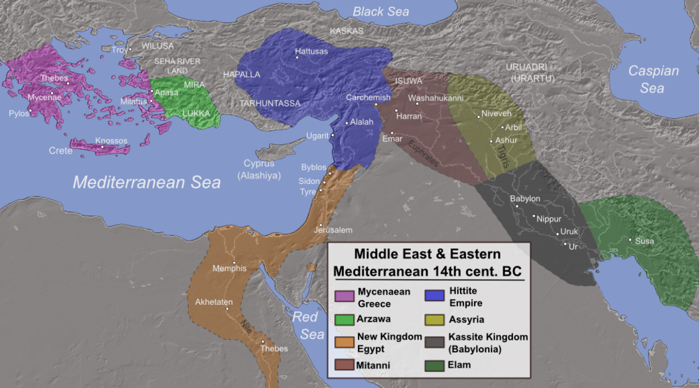 14th c BC Eastern Mediterranean
