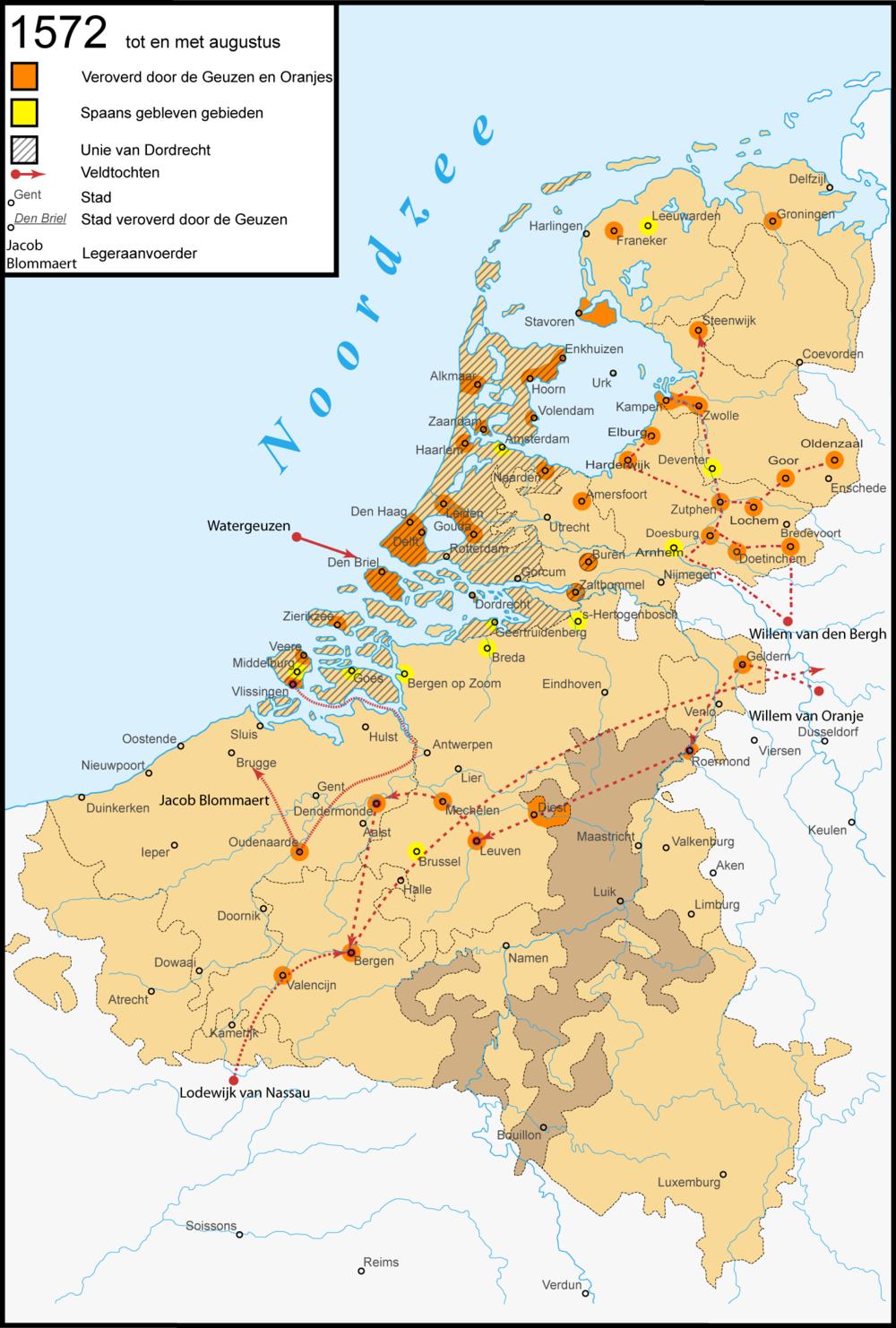 Netherlands in 1572