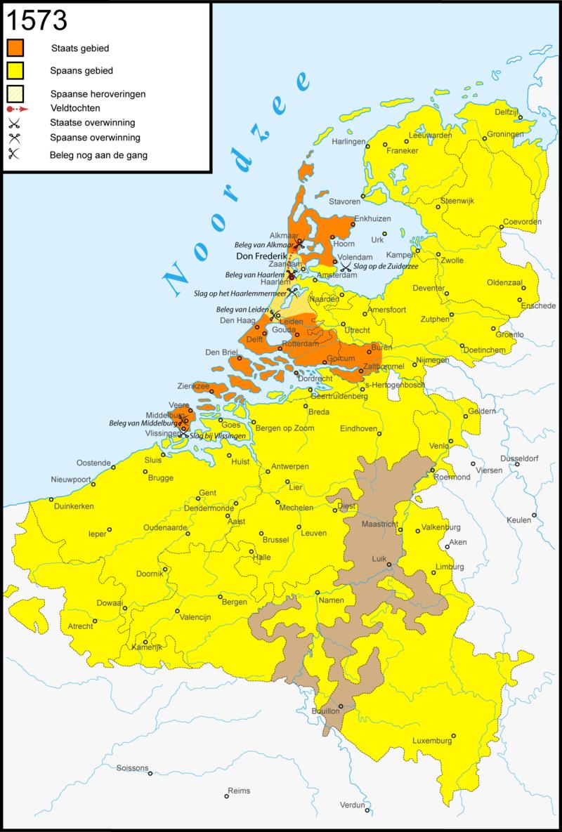 Netherlands in 1573