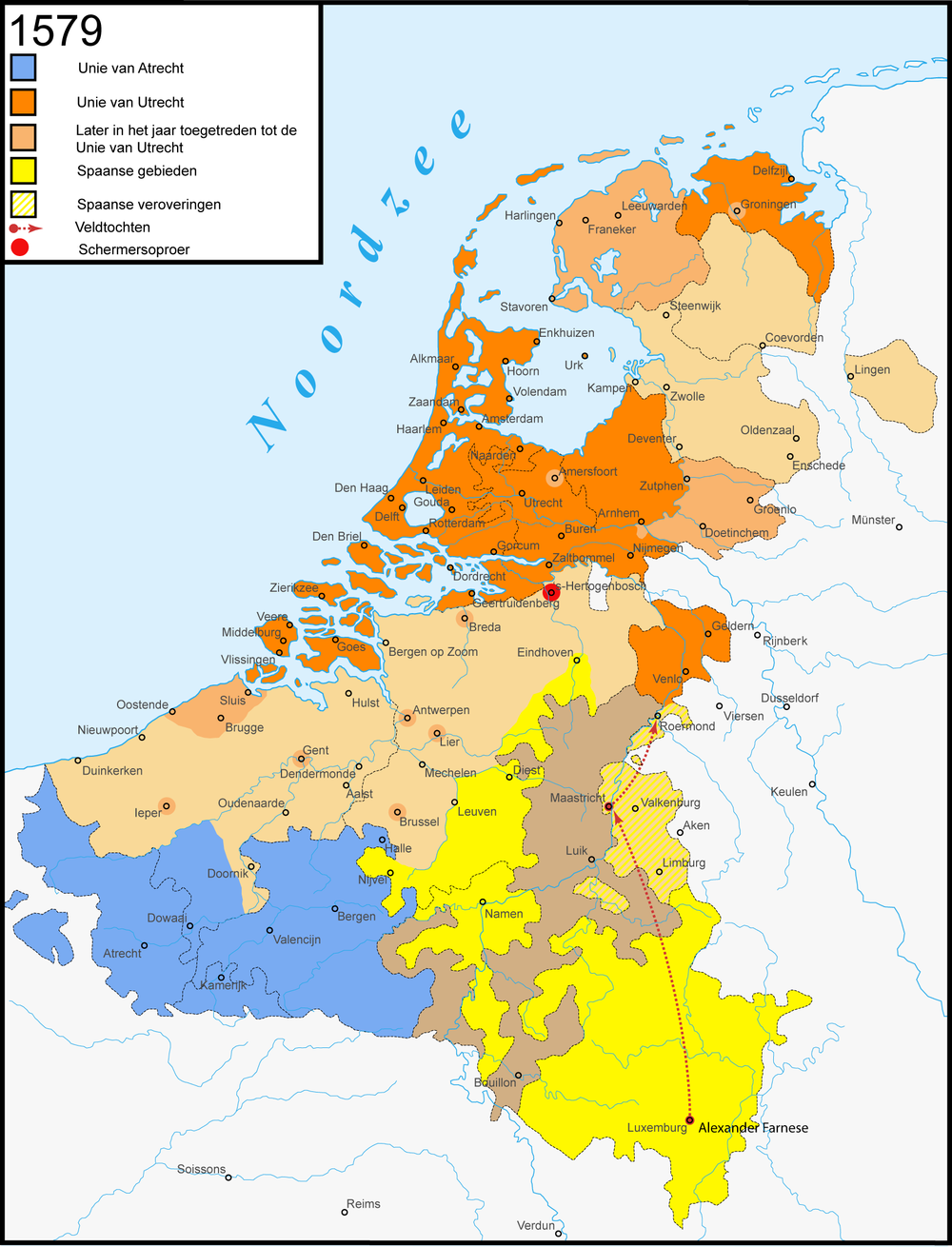 Unions of Utrecht and Arras
