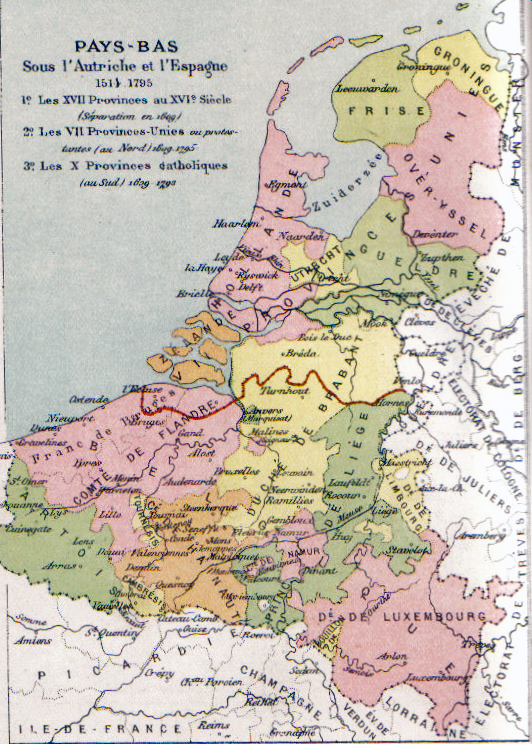 Habsburg Netherlands Pre-80 Years War