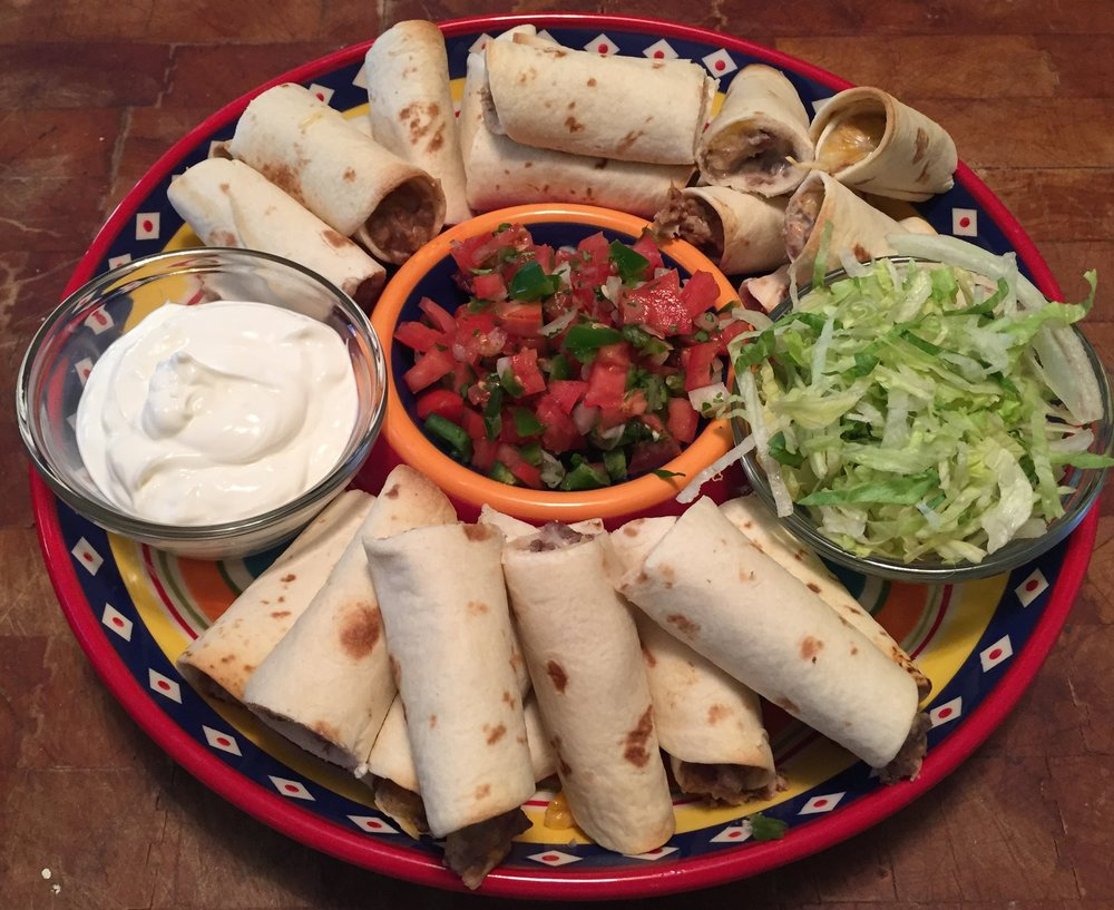 Beef Taquitos made from our genuine Pineywoods Beef