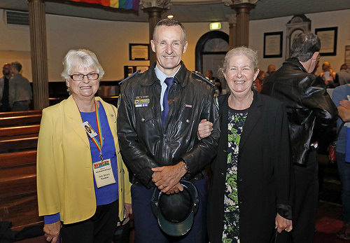 Judy Brown, Tony Crandell and Ruth Green at the Equal Voices launch (Photo credit: Ann-Marie Calilhanna, Star Observer)