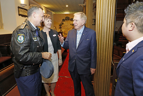 Tony Crandell, Natalie Cooper, Michael Kirby and Benjamin Oh at the Equal Voices launch (Photo credit: Ann-Marie Calilhanna, Star Observer)
