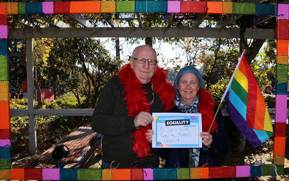 Ron and Ruth Green at IDAHOT, Blue Mountains