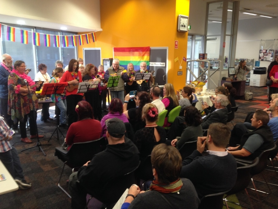 IDAHOT at Lithgow Library