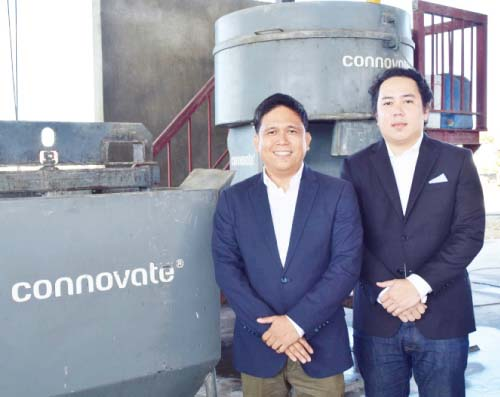 Engr. Ramir Padilla, president of Connovate Phils. and Fernand Imperial, chairman of Connovate Phils.