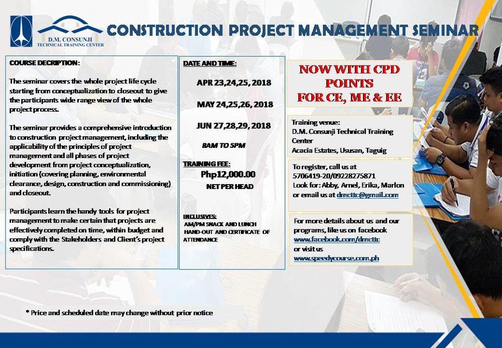 CONSTRUCTION PROJECT MANAGEMENT SEMINAR APR - JUN.jpg