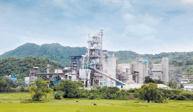 Republic Cement's Teresa Plant in Rizal