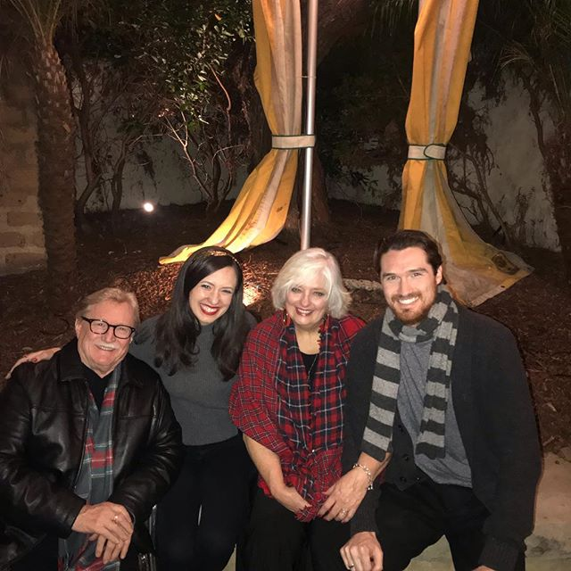 Great family evening in Santa Barbara to support my Mom as she read The Night Before Christmas and got all of us diving deep into the Holiday spirit!  So Fun!!!