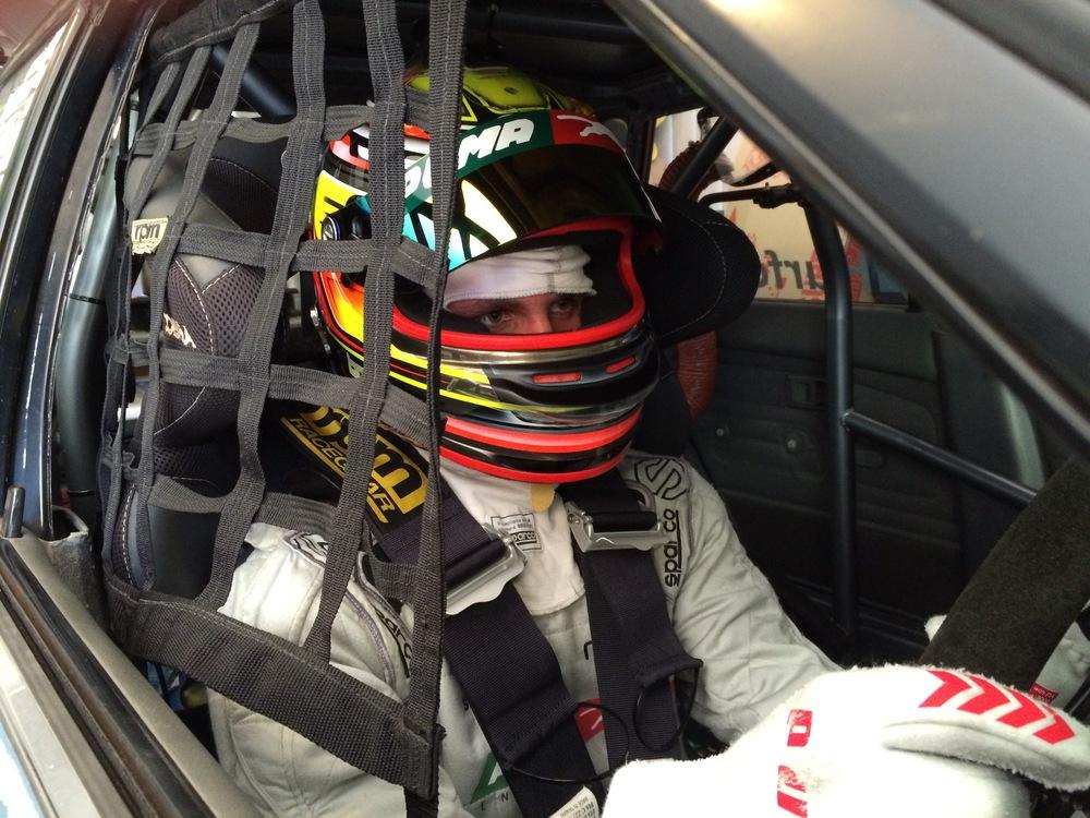 Aspiring Brisbane racing car driver Matthew Bode