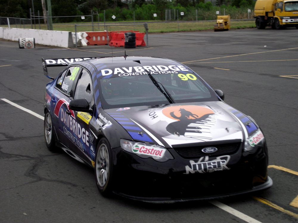 Matthew Bode enjoyed a day of testing at Queensland Raceway with Matt Stone Racing today