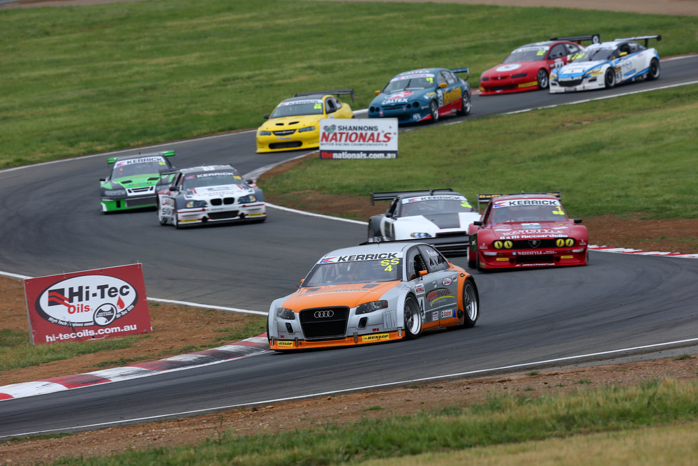 The Kerrick Sports Sedan Series will take in Sandown Raceway, Winton Raceway, Queensland Raceway, Phillip Island and Sydney Motorsport Park across 2016 (credit-KSSS/Nathan Wong)