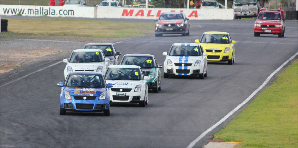 Category manager Iain Sherrin expects as many as 15 APCS Class E cars on the grid this year, thanks to the addition of the Swift Sports and other car makes (Image: supplied by GMC Motorsport Services)