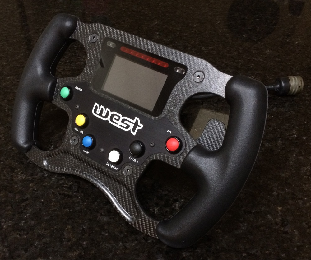 A range of changes have been made in the new model, including simplified car controls (Image: West Race Cars Australia)