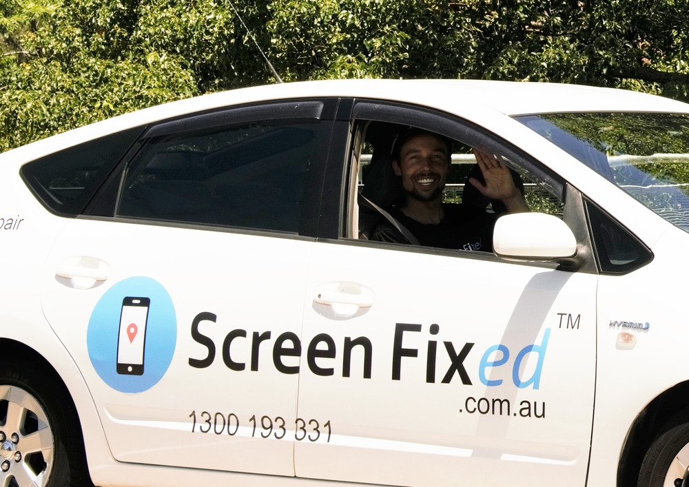 Brisbane entrepreneur Ben Turner will expand his start-up Screen Fixed interstate and soon, internationally, after a successful Brisbane launch