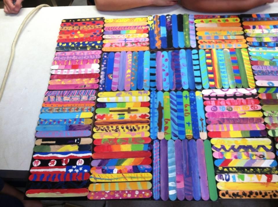 Creativity Classes — Dee Everson, Artist : popsicle sticks quilt pattern - Adamdwight.com