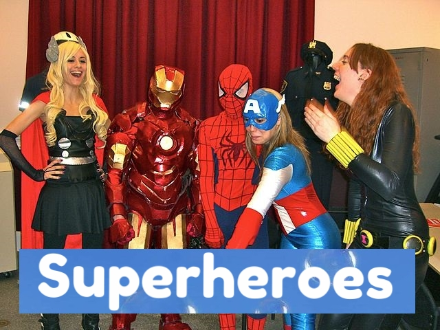 360video superheroes for 360vr vr