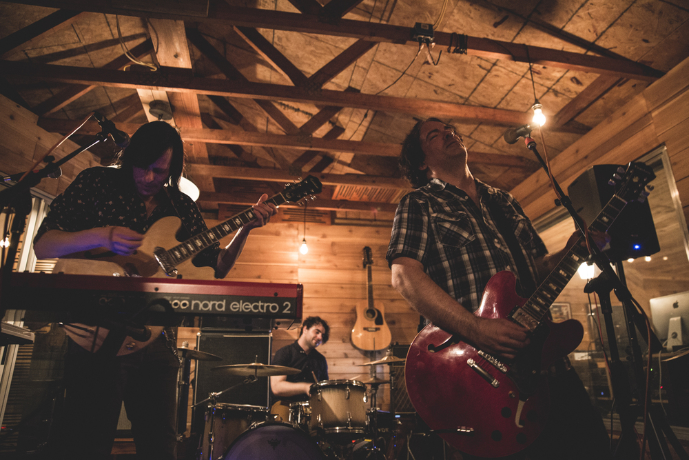 The Posies played a sold out show at Redwood Studios Thursday night. Photo by Marcus Junius Laws