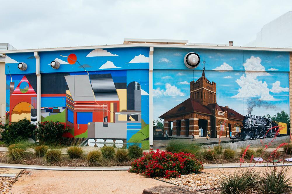 Greater Denton Arts Council mural. Photo by Adrian Samano.