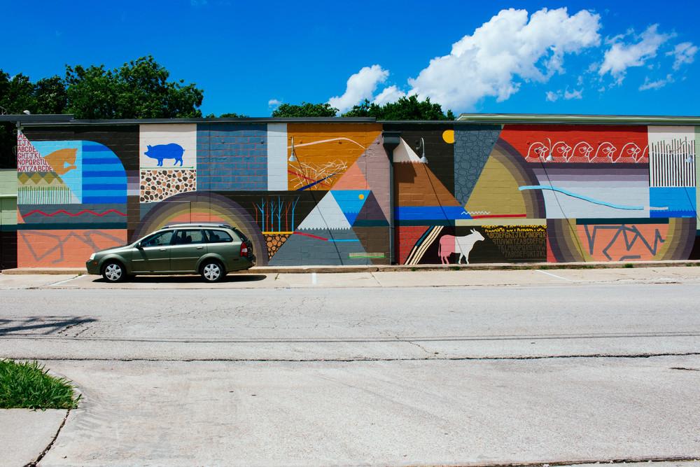 SCRAP Mural. Photo by Adrian Samano.
