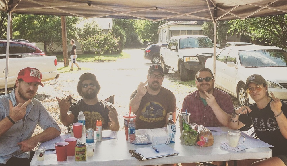 This years judges seemed pretty judge-y, we think. Photo courtesy of Marlee Ross.