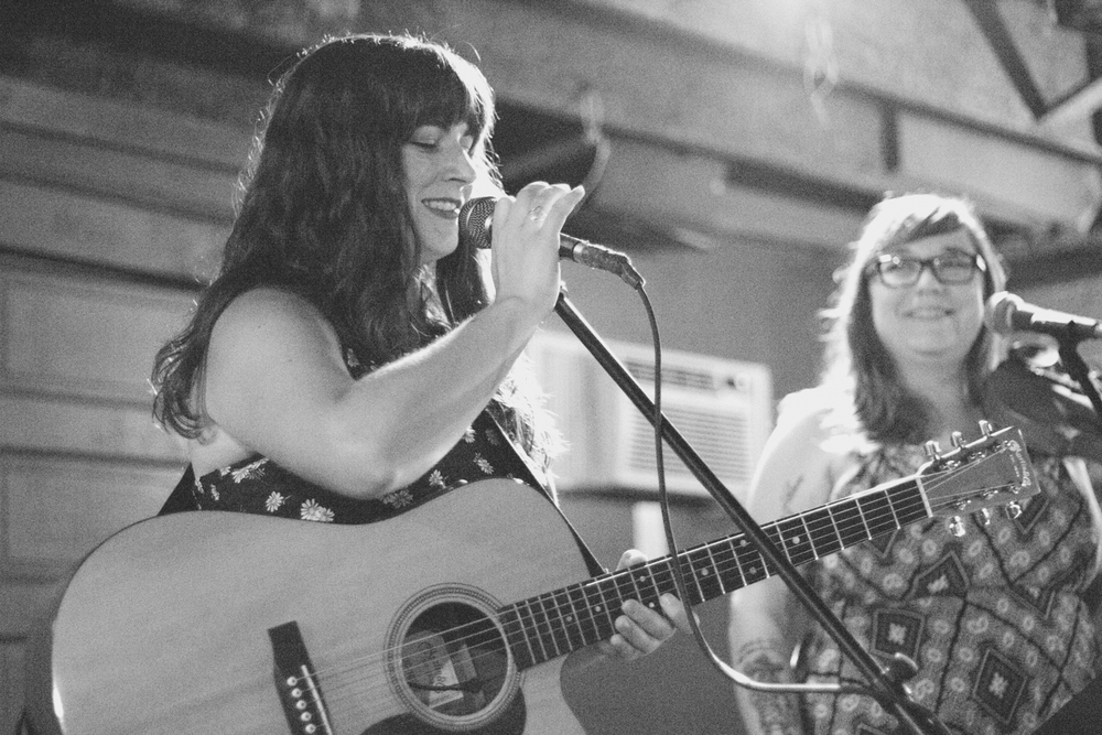 Kim Nall & Petra Kelly on Thursday. Photo by Brittany Keeton.