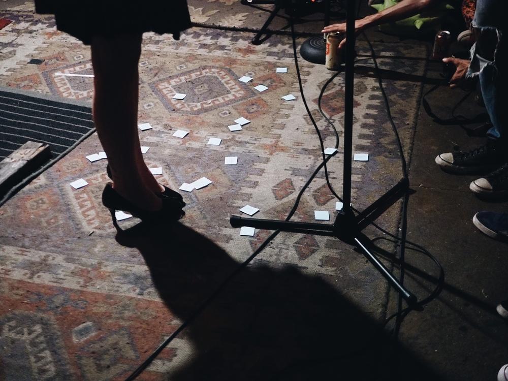 Copy of Spiderweb Salon on Sunday. Photo by Zack Huggins.