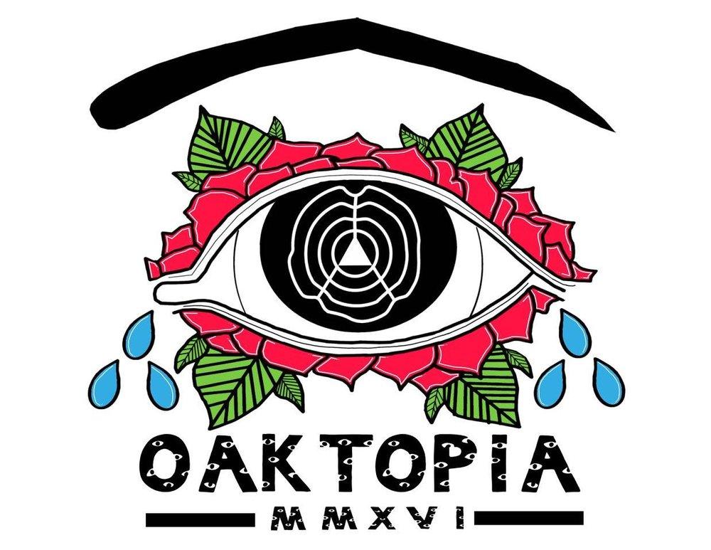 Hydrohipo's Oaktopia T-shirt design