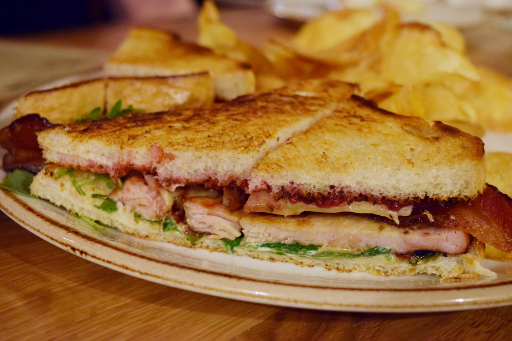 Harvest Turkey Sandwich, aka Thanksgiving on bread.