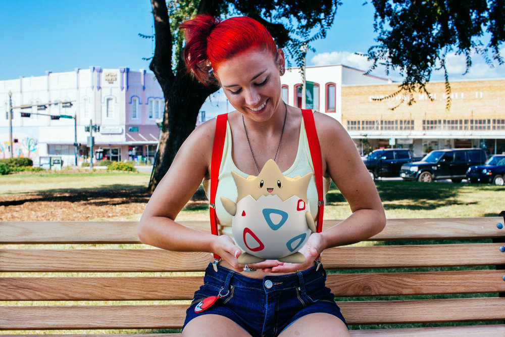 Pokémon-themed shoot with Misty