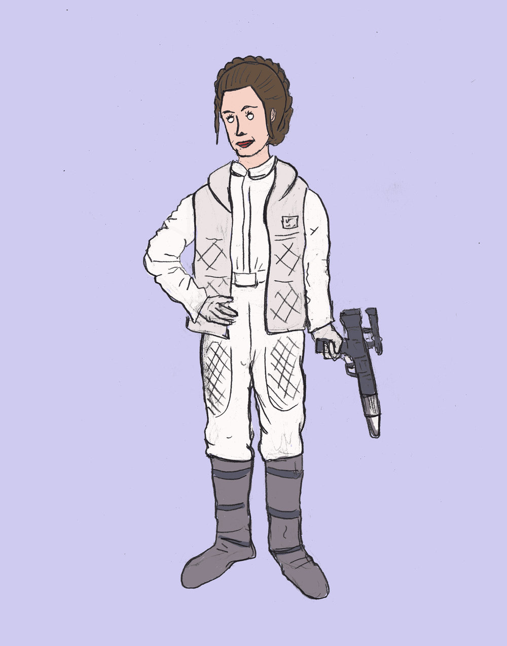 Princess Leia Hoth