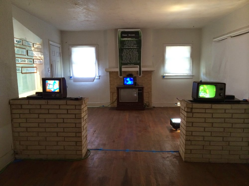 from Dear House An installation in Oak Cliff, Texas