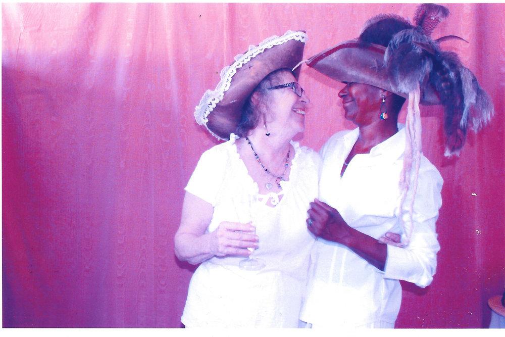 Cynthia and Fran. Image courtesy Fran Hawes.